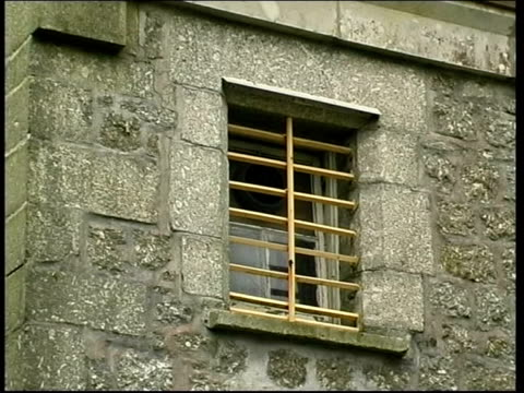 dartmoor dartmoor prison ext gvs prison gv prison atrium pan - dartmoor stock videos & royalty-free footage