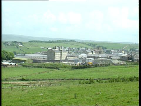 criticism cf england devon hmp dartmoor ls dartmoor prison ms ditto ms front entrance of prison - dartmoor stock videos & royalty-free footage