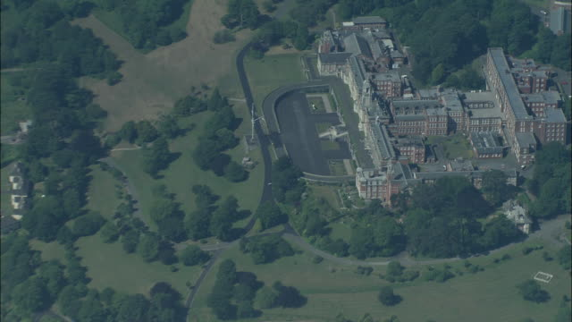 dartmouth from 5,000 feet - devon stock videos & royalty-free footage