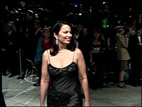 daryl hannah at the 2002 academy awards vanity fair party at morton's in west hollywood, california on march 24, 2002. - oscarsfesten bildbanksvideor och videomaterial från bakom kulisserna
