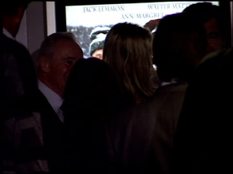 daryl hannah at the 'grumpy old men' premiere on october 15 1993 - daryl hannah stock videos & royalty-free footage