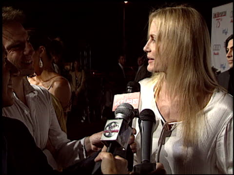 daryl hannah at the hollywood reporter 75th anniversary at pacific design center in west hollywood california on september 13 2005 - 75th anniversary stock videos & royalty-free footage