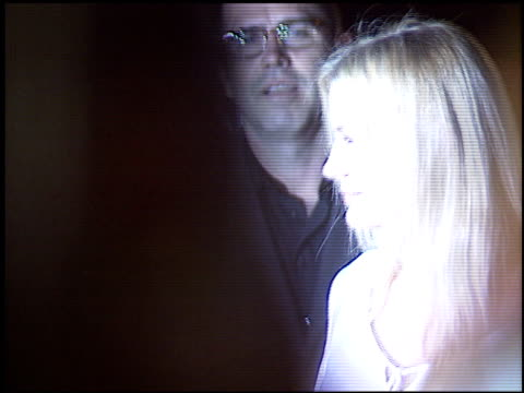 daryl hannah at the hollywood reporter 75th anniversary at pacific design center in west hollywood california on september 13 2005 - pacific design center stock videos and b-roll footage