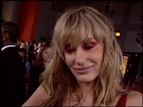 daryl hannah at the 'kill bill' premiere at grauman's chinese theatre in hollywood california on september 29 2003 - daryl hannah stock videos & royalty-free footage