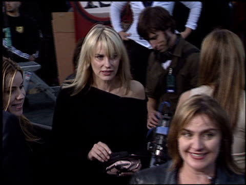 daryl hannah at the premiere of 'the matrix reloaded' on may 7 2003 - daryl hannah stock videos & royalty-free footage