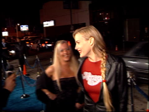 daryl hannah at the usa films event on march 24 2000 - daryl hannah stock videos & royalty-free footage