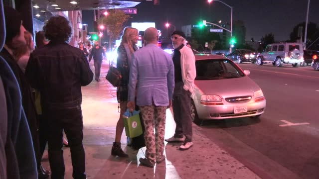daryl hannah lou adler at the roxy in west hollywood celebrity sightings in los angeles ca on 10/10/13 - daryl hannah stock videos & royalty-free footage