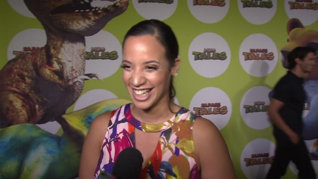 interview dascha polanco on attending the event this evening she's here with her kids this evening on the importance of education on how becoming a... - game of chance stock videos & royalty-free footage