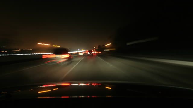 dashcam 6 hd freeway traffic - high speed photography stock videos & royalty-free footage