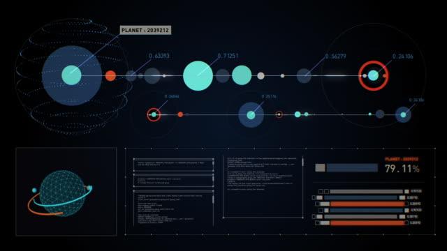 データ解析モーション グラフィックス - 分析する点の映像素材/bロール