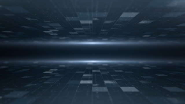 data background, loopable - dark blue stock videos & royalty-free footage