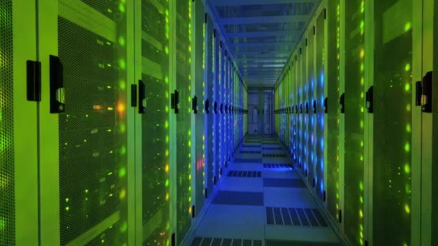 stockvideo's en b-roll-footage met data center - noord holland