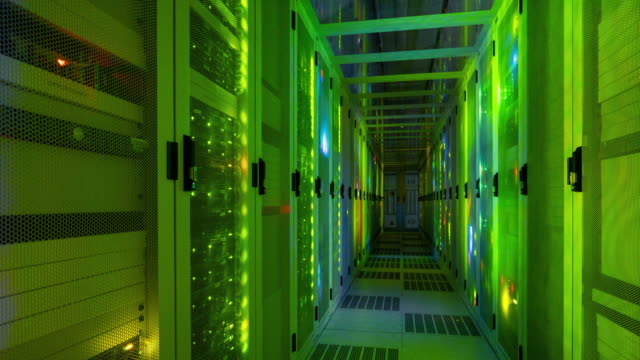data center - server room stock videos & royalty-free footage
