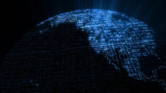 Código de datos de red-N. America