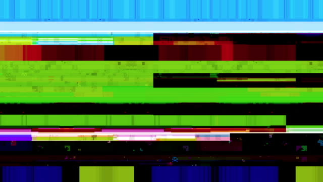 vídeos de stock e filmes b-roll de data glitch 030 hd stock video - duvida