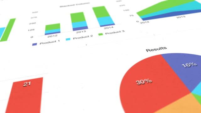 vídeos y material grabado en eventos de stock de conjunto de datos - diagrama circular