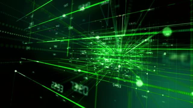 flusso di dati e circuiti stampati - cable video stock e b–roll