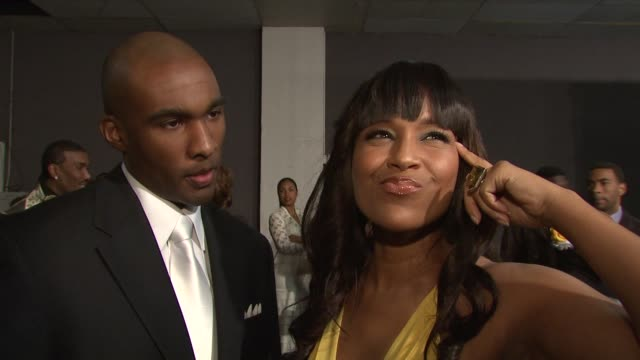 datari turner and lisaraye mccoy on the event at the 40th naacp image awards at los angeles ca - lisaraye mccoy stock videos & royalty-free footage