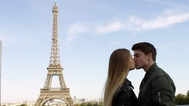 date in paris - valentine's day stock videos & royalty-free footage