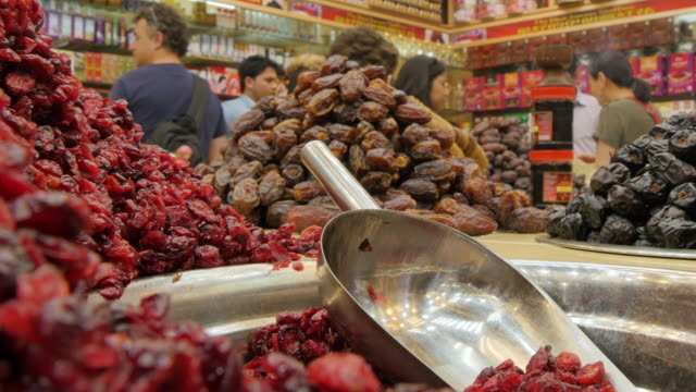 Dates in Deira Gold Souk, Dubai City of Gold, Dubai, United Arab Emirates, Middle East, Asia