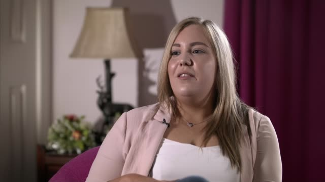 Daughter of Islamic State victim David Haines campaigns for justice ENGLAND INT Bethany Haines interview SOT CUTAWAYS reporter