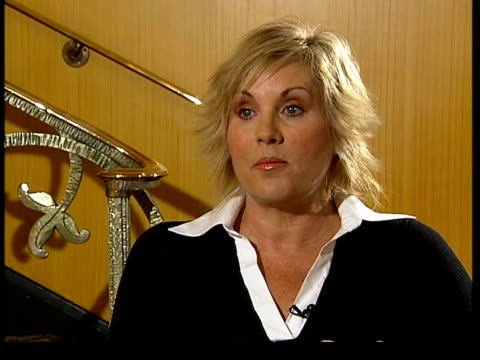 Daughter of Judy Garland on London stage Lorna Luft interviewed SOT Frightening but never a moment when I thought I shouldn't be doing this