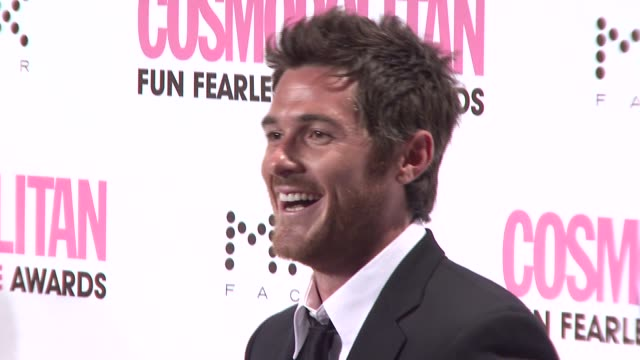 Dave Annable at the Cosmopolitan Presents 2008 Fun Fearless Male Awards at Cipriani 42nd Street in New York New York on March 3 2008