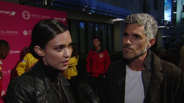 INTERVIEW Dave Annable Odette Annable on why is it important for you to come out tonight in support of City Year and education and on did you have a...