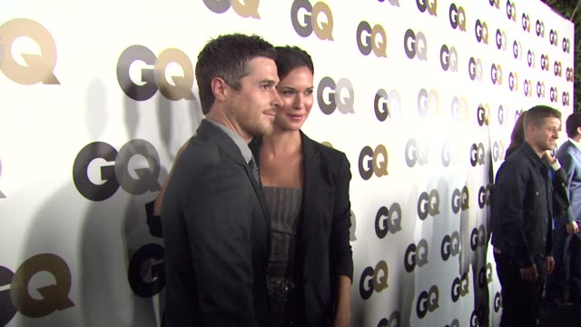 Dave Annable Odette Yustman at the GQ's 'Men Of The Year' Party at Los Angeles CA