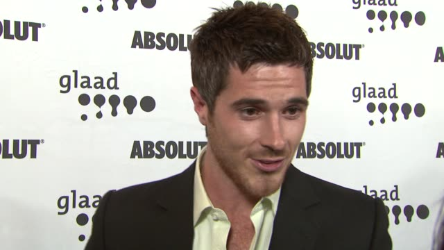 Dave Annable on his shows nomination and his character on the show at the 18th Annual GLAAD Media Awards at the Kodak Theatre in Hollywood California...