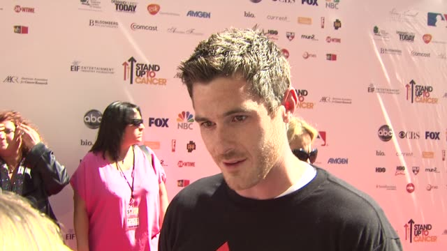 Dave Annable on why he wanted to be involved what the initiative means to him personally