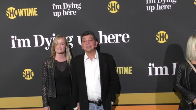 dave flebotte at the premiere of showtime's 'i'm dying up here' arrivals on may 31 2017 in los angeles california - showtime video stock e b–roll