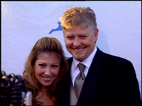 dave foley and guest at the peta's 25th anniversary gala and humanitarian awards show at paramount studios in hollywood california on september 10... - paramount studios stock videos and b-roll footage