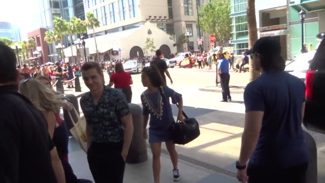Dave Franco walking around at San Diego Comic Con in San Diego in Celebrity Sightings in San Diego