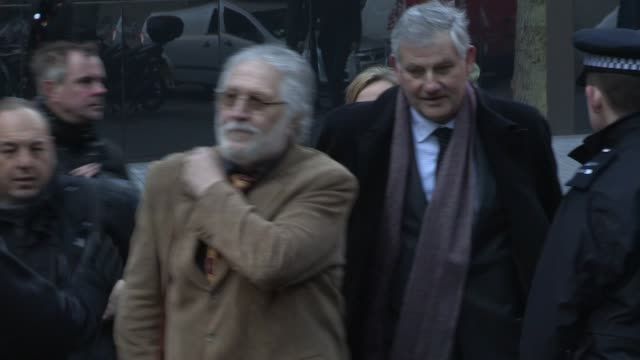 dave lee travis at dave lee travis charged in operation yewtree investigation trial begins at southwark crown court on january 14 2014 in london... - dj stock videos & royalty-free footage
