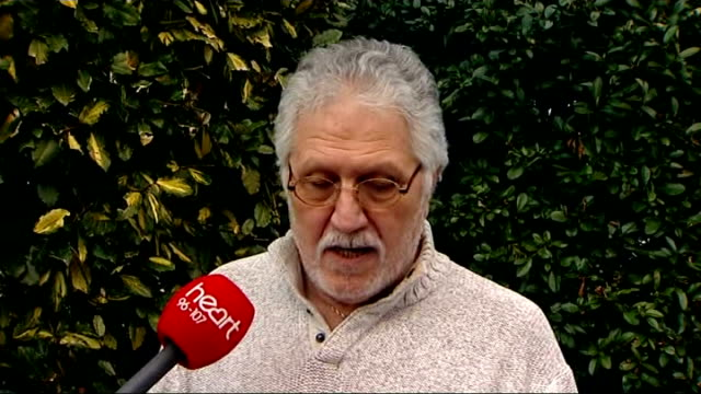 dave lee travis rearrested on suspicion of sexual offenses england bedfordshire leighton buzzard ext dave lee travis statement sot i deny any wrong... - レイトンバザード点の映像素材/bロール