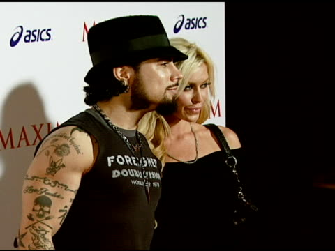 Dave Navarro at the Maxim Magazine's ICU Event at Area in Los Angeles California on August 2 2007