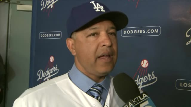 KTLA Dave Roberts Talks About His Position As Dodgers Manager on December 1 2015