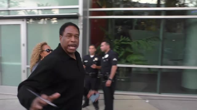 Dave Winfield arriving to see Kobe Bryant's final game at Staples Center in Los Angeles Celebrity Sightings on April 13 2016 in Los Angeles California