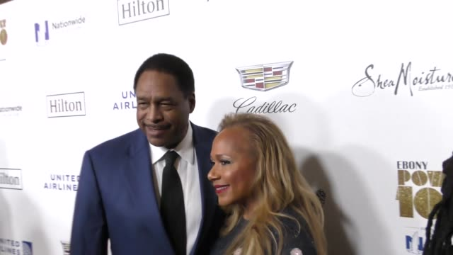 vídeos de stock, filmes e b-roll de dave winfield at the ebony magazine power 100 gala at the beverly hilton hotel on december 01, 2017 in beverly hills, california. - the beverly hilton hotel