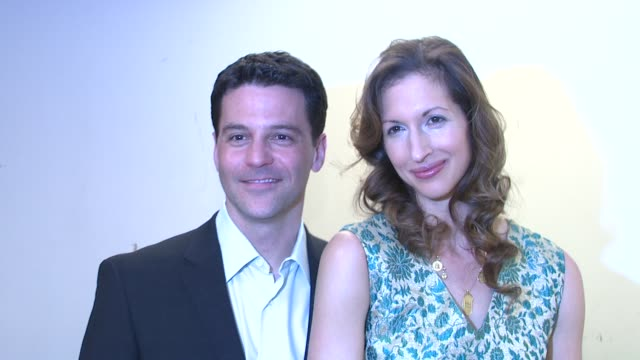 David Alan Basche and Alysia Reiner at the Our Time Theatre Company Honors Howard L Bingham at New York NY