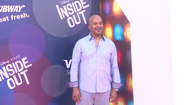 """david alan grier at disney-pixar's """"inside out"""" los angeles premiere at the el capitan theatre on june 08, 2015 in hollywood, california. - el capitan theatre stock videos & royalty-free footage"""