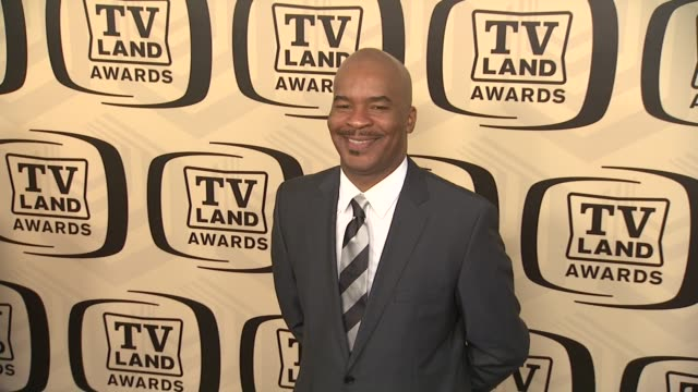 david alan grier at tv land awards 10th anniversary arrivals at lexington avenue armory on april 14 2012 in new york ny - tv land awards stock videos and b-roll footage