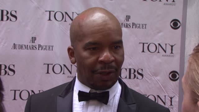 David Alan Grier imitates his reaction to the Tony nomination does different screams Jokes that he's not a comedic performer but he will be...