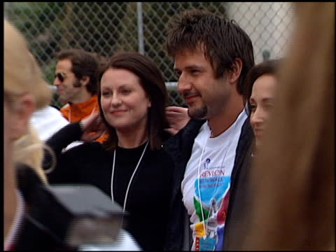 david arquette at the revlon run/walk for women at coliseum in los angeles, california on may 12, 2001. - revlon stock videos & royalty-free footage