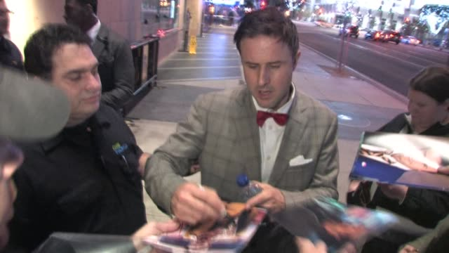 David Arquette outside Nokia Live at the Celebrity Sightings in Los Angeles at Los Angeles CA