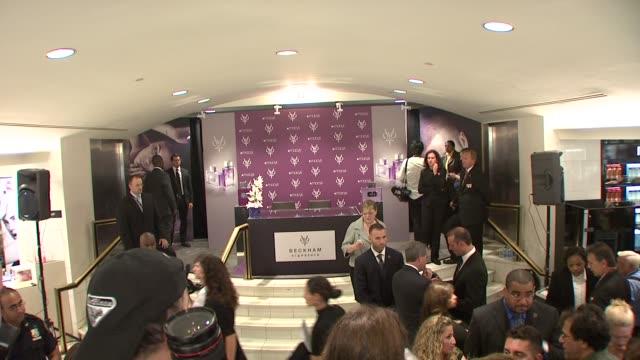 David Beckham and Victoria Beckham Launch Beckham Signature in New York at New York NY