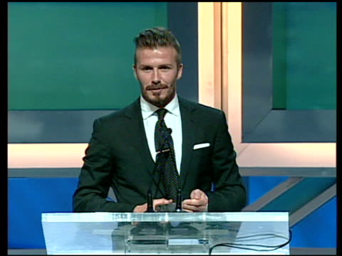 David Beckham at 27th Anniversary Sports Spectacular Benefiting CedarsSinai Medical Genetics Institute on 5/20/12 in Los Angeles CA
