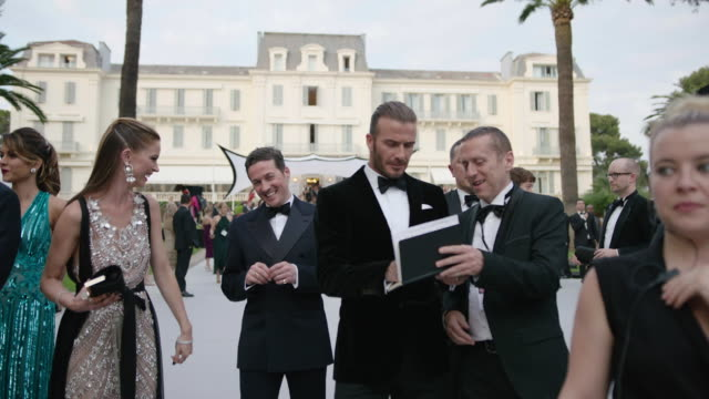 david beckham at amfar gala cannes 2017 at hotel du capedenroc on may 25 2017 in cap d'antibes france - amfar stock videos & royalty-free footage