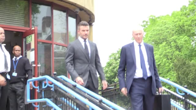 David Beckham has been banned from the road by magistrates after being caught using a mobile phone while driving his BentleyThe Manchester United...